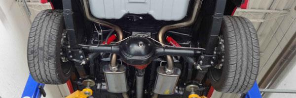 Classic Car Restorations - Suspension and Brakes