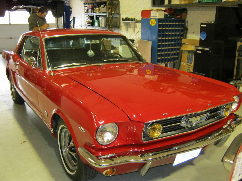 1966 Mustang Hard Top