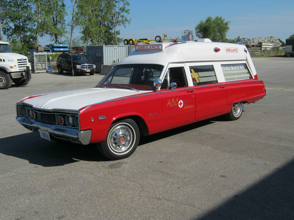 1966 Polara Ambulance